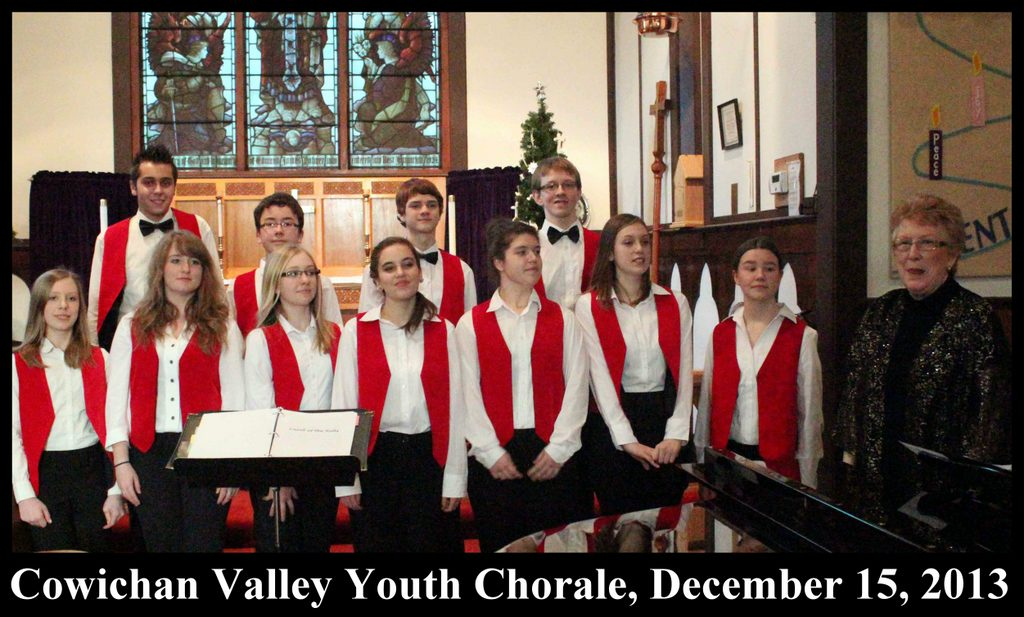 Cowichan Valley Youth Chorale