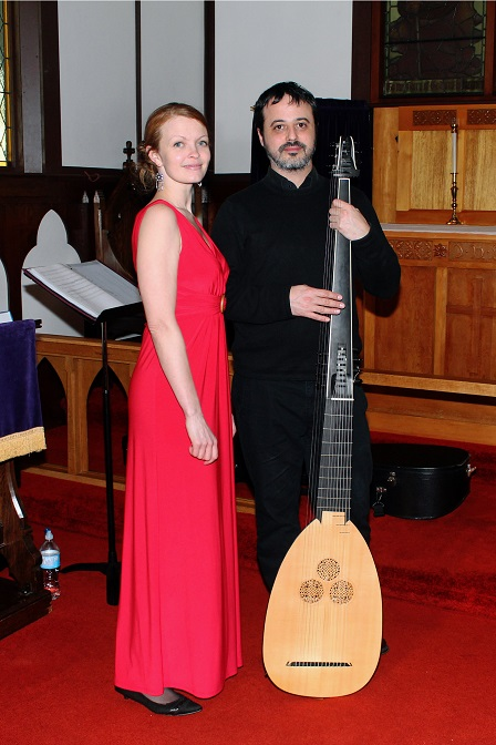 """Obsession's Garden"" - Camille Hesketh (soprano) & Guzman Ramos (theorbo and archlute)"