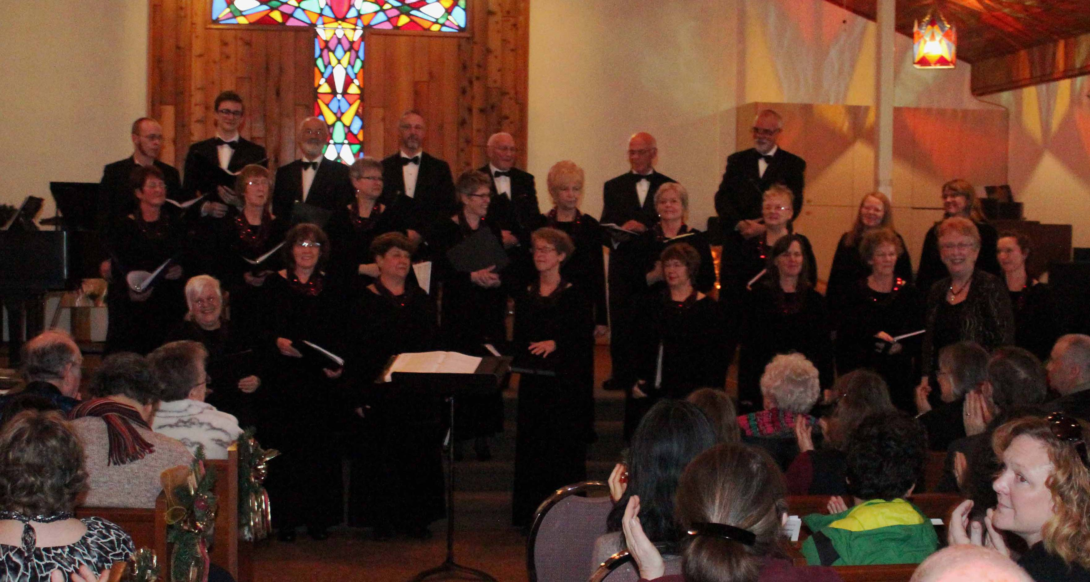 """Unfolding Delights"" - Concenti Singers, December 2015"