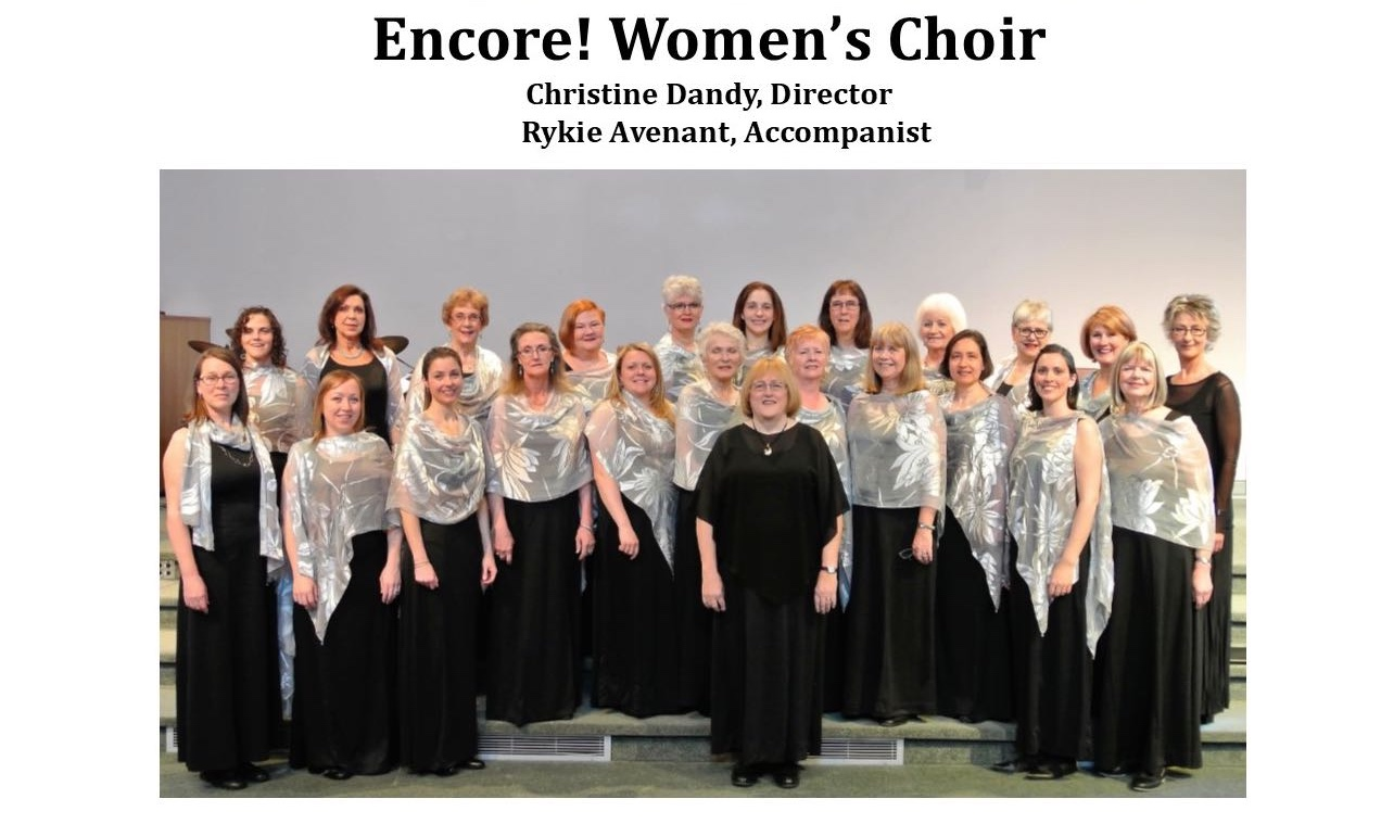 December 10, 2017 - Encore! Women's Choir