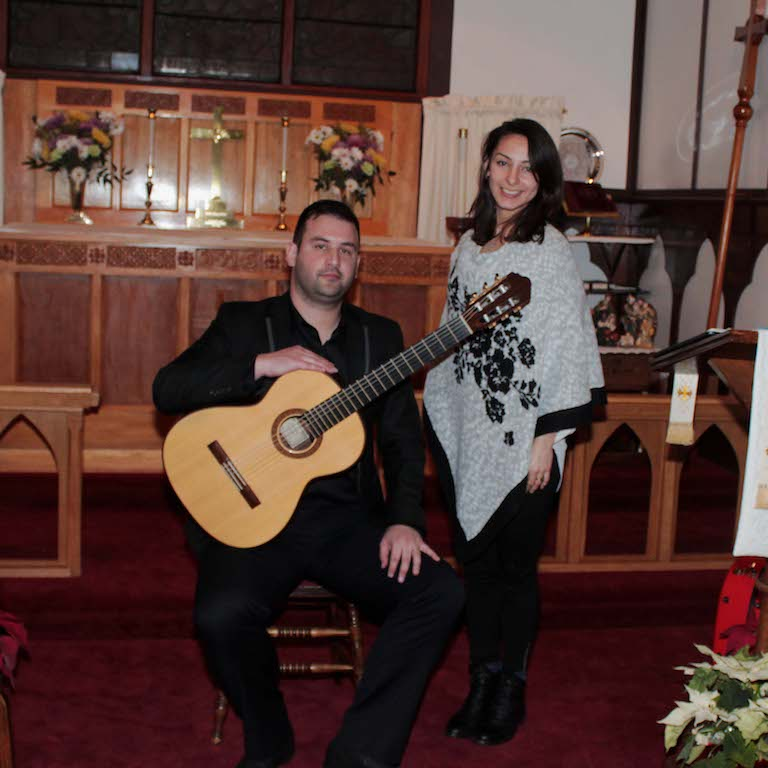 """The Guitar Around the World"" - David Sossa (guitar), Maria Alejandra Velásquez (soprano), January 7, 2018"
