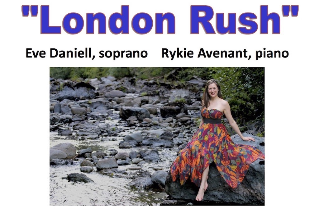 February 2018 London Rush Eve Daniell