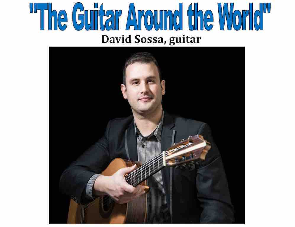 January 7, 2018 - Guitar Around the World - David Sossa